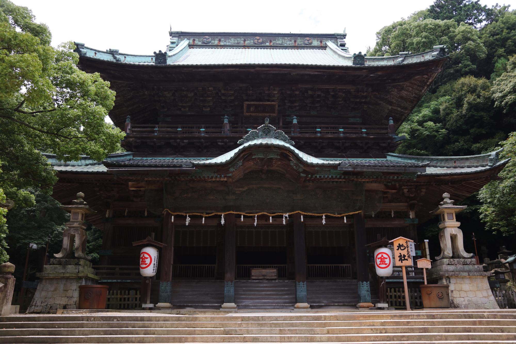 香川県にある金刀比羅宮についてまとめてみた!階段の詳細もあり!